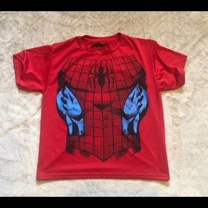 Boy's Spider-Man shirt size large 10/12.